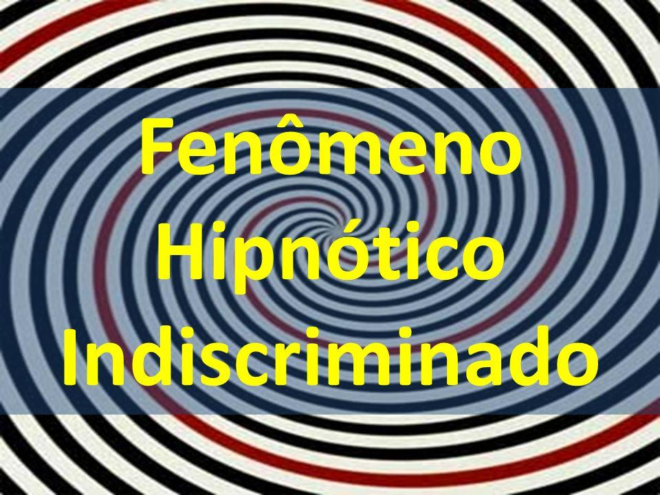 Hipnotismo Vulgar Reparemos o fenômeno hipnótico em espetáculo menos edificante.