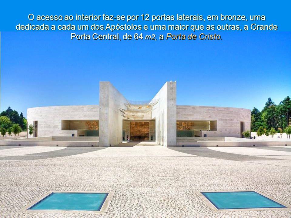 E, assim, a inauguração da Igreja da Santíssima Trindade veio concretizar um sonho de mais de 30 anos. É a quarta maior igreja católica do Mundo, tend