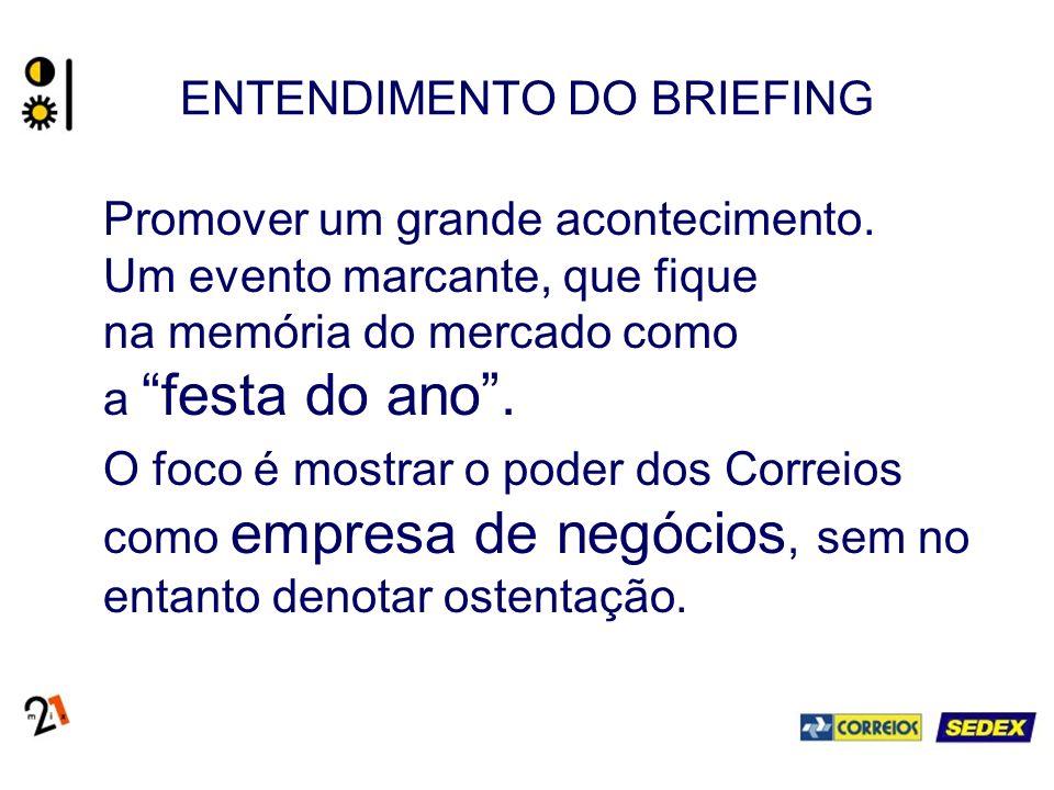 ENTENDIMENTO DO BRIEFING Onde: Brasília.Quando: 14 de setembro (terça-feira).