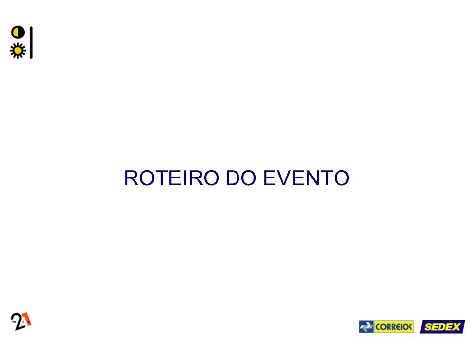 ROTEIRO DO EVENTO