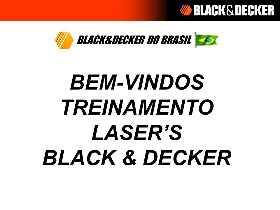 OBJETIVOS Aprender as características e benefícios dos lasers da Black & Decker Entender e comunicar as aplicações dos lasers de Black & Decker Aprender mediante ao uso, cada um dos modelos de lasers Black &Decker