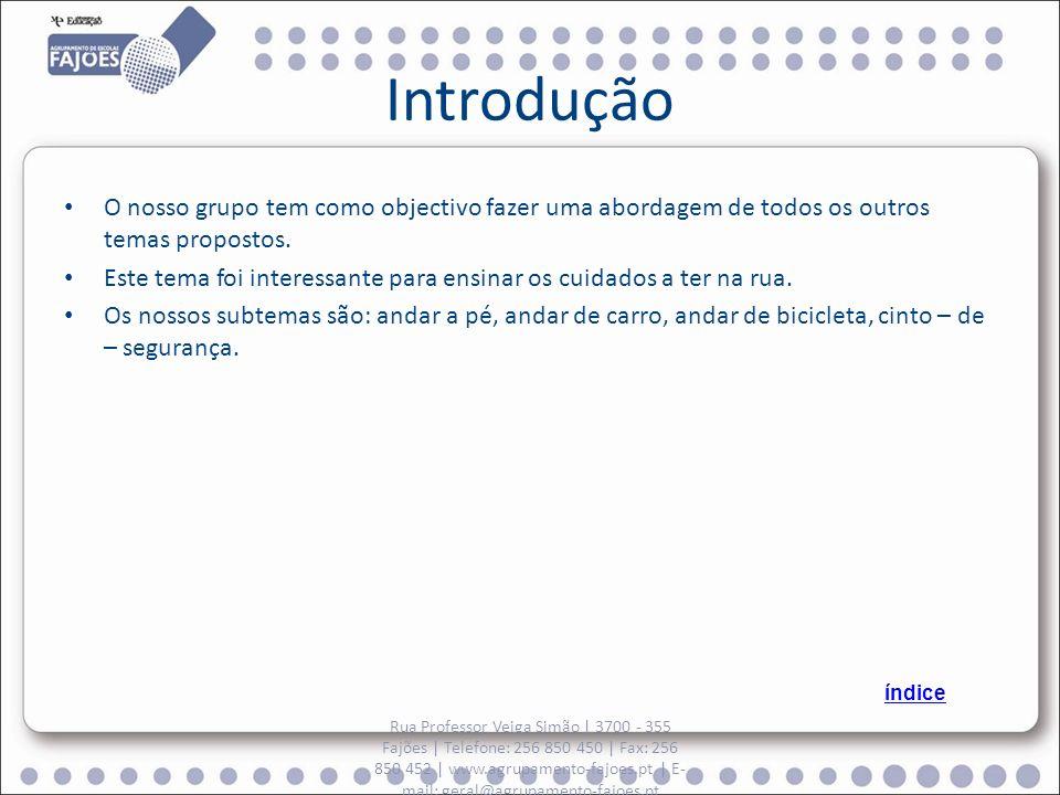 Bicicleta Rua Professor Veiga Simão | 3700 - 355 Fajões | Telefone: 256 850 450 | Fax: 256 850 452 | www.agrupamento-fajoes.pt | E- mail: geral@agrupamento-fajoes.pt