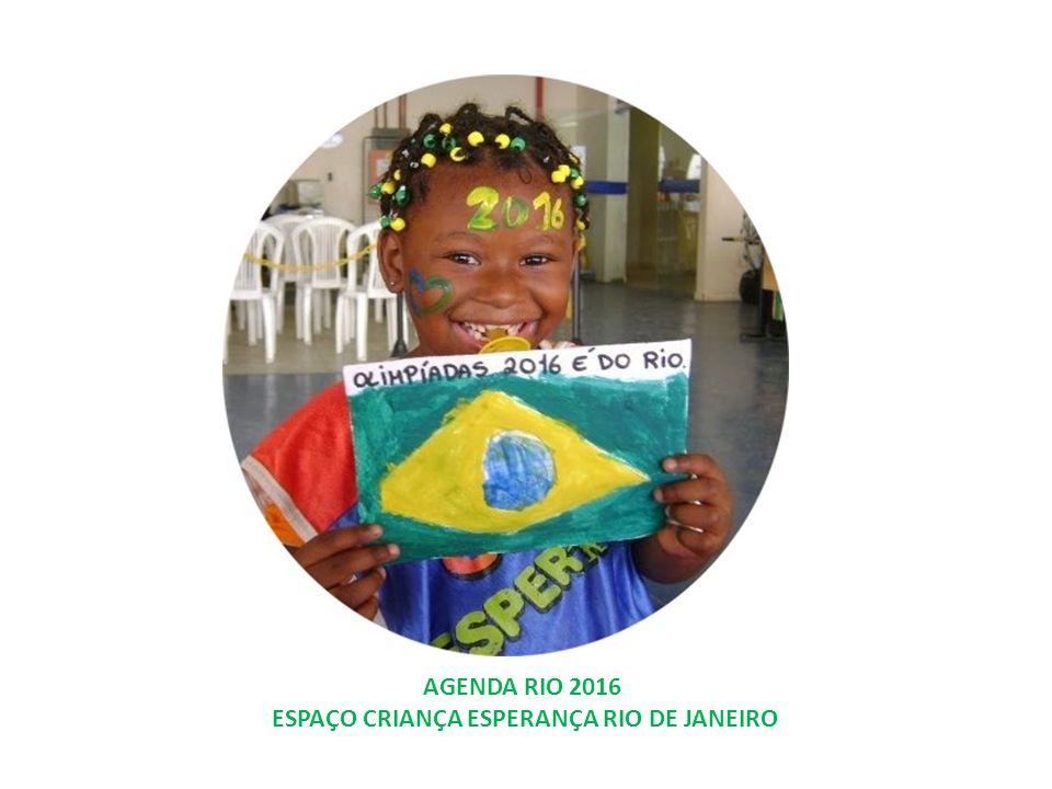 FAVELA ANFITRIÃ AGENDA RIO 2016 ESPAÇO CRIANÇA ESPERANÇA Qualificação do ECE RJ como destino turístico.