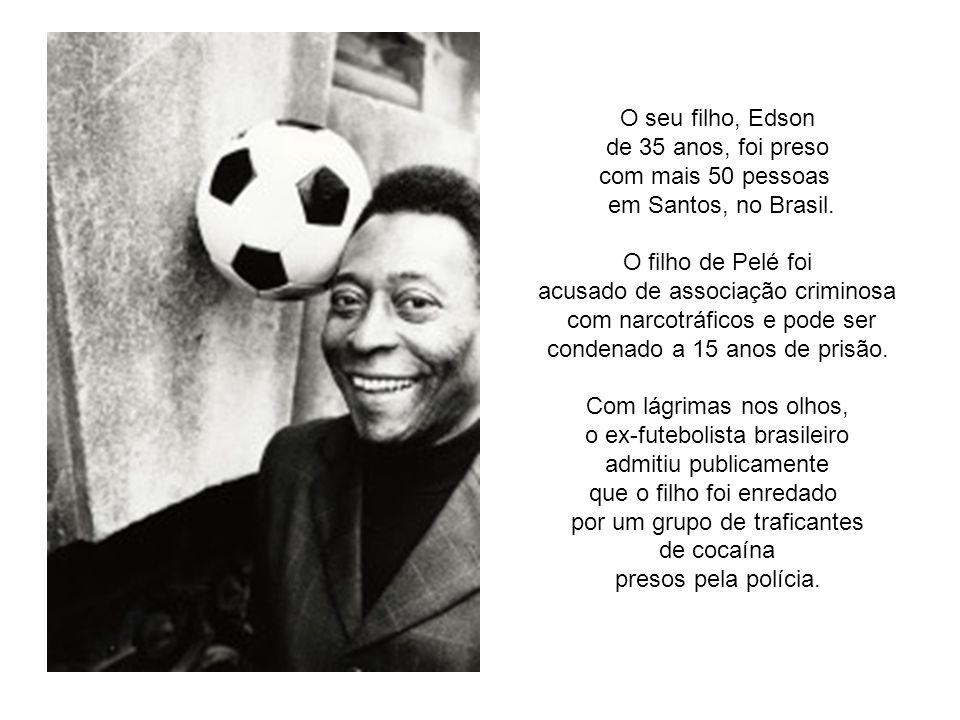 Pelé, o grande ídolo do futebol de todos os tempos, apareceu diferente de outras ocasiões, deu a conferência de imprensa mais triste e dolorosa da sua vida