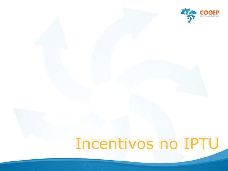 Incentivos no IPTU
