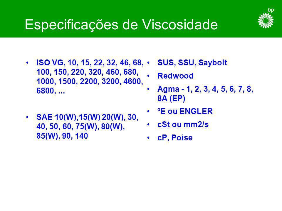 Especificações de Qualidade HL, HLP, HLP-HV C, CL, CLP VB, VCL, VDL BA, BB-V, BC-V EP HD K2K, K3K, KH2K, KP2R API GL-1, 2, 3, 4, 5 ATF API SA, SB, SC,