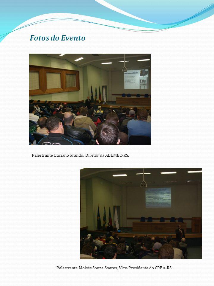 Fotos do Evento Palestrante Luciano Grando, Diretor da ABEMEC-RS.