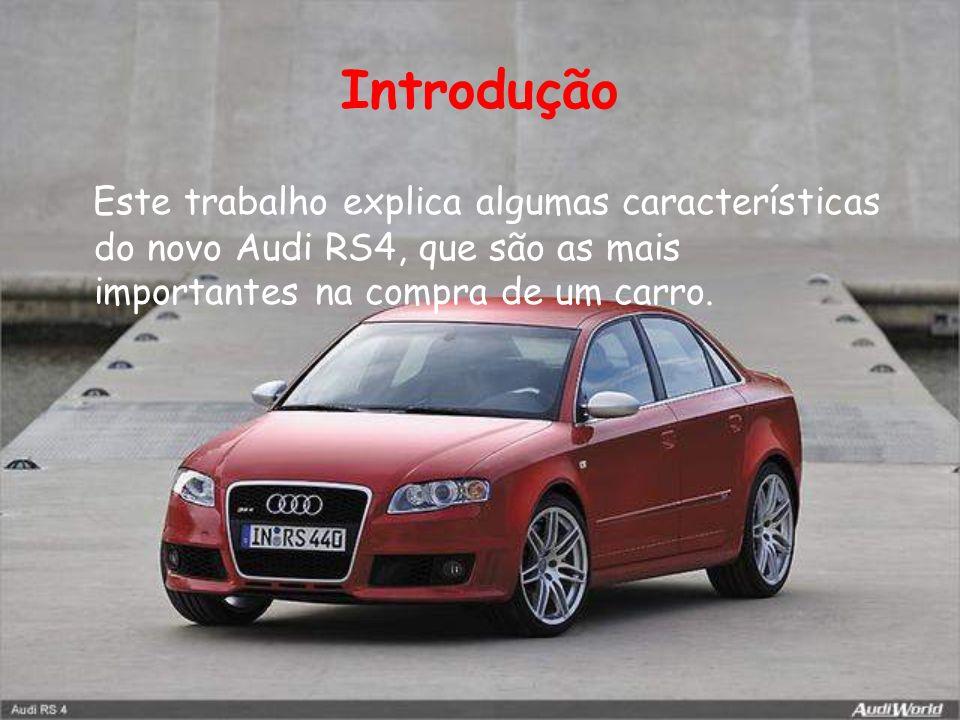 Design Com as suas linhas imponentes e atléticas, o RS4 irradia auto confiança.