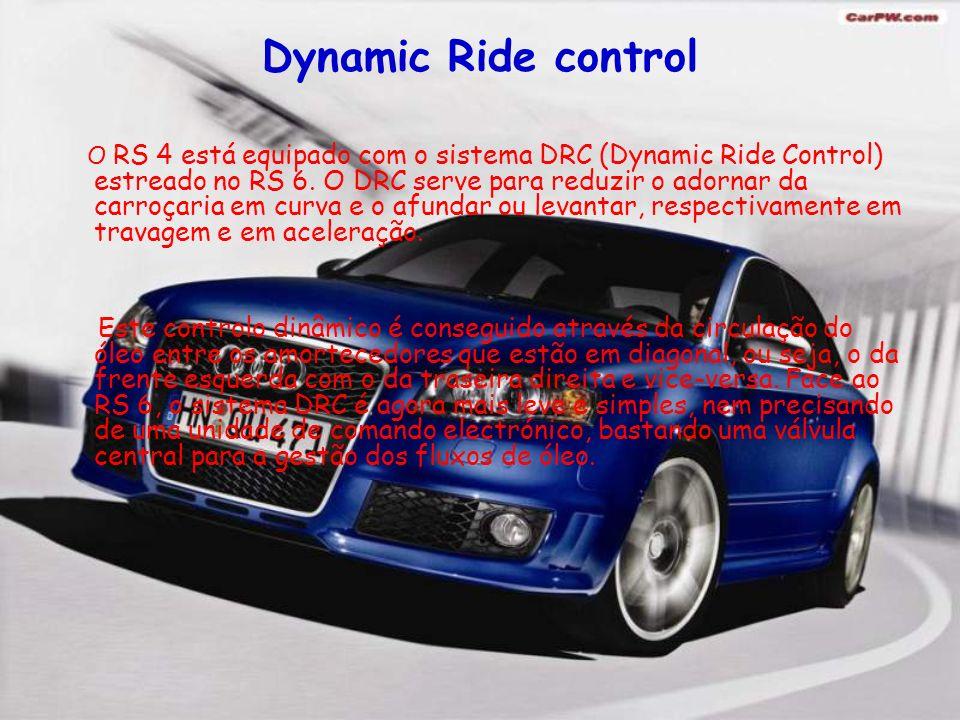 Motores Apesar de se tratar de uma tecnologia nova, a injecção directa a gasolina FSI® da Audi, é usada neste motor de altas prestações.