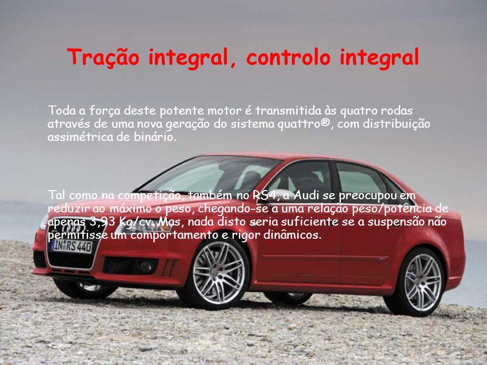 Conclusão Com este trabalho aprendemos mais acerca das principais características do Audi RS4.
