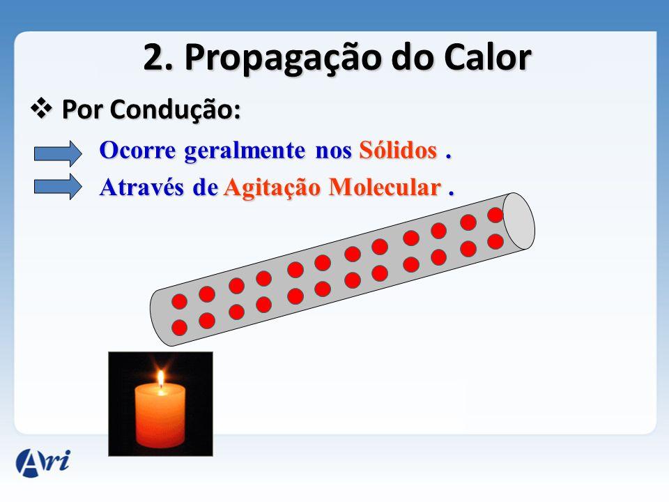 Mais exemplos de propagação do Calor por Condução: Panela ao fogo Churrasco