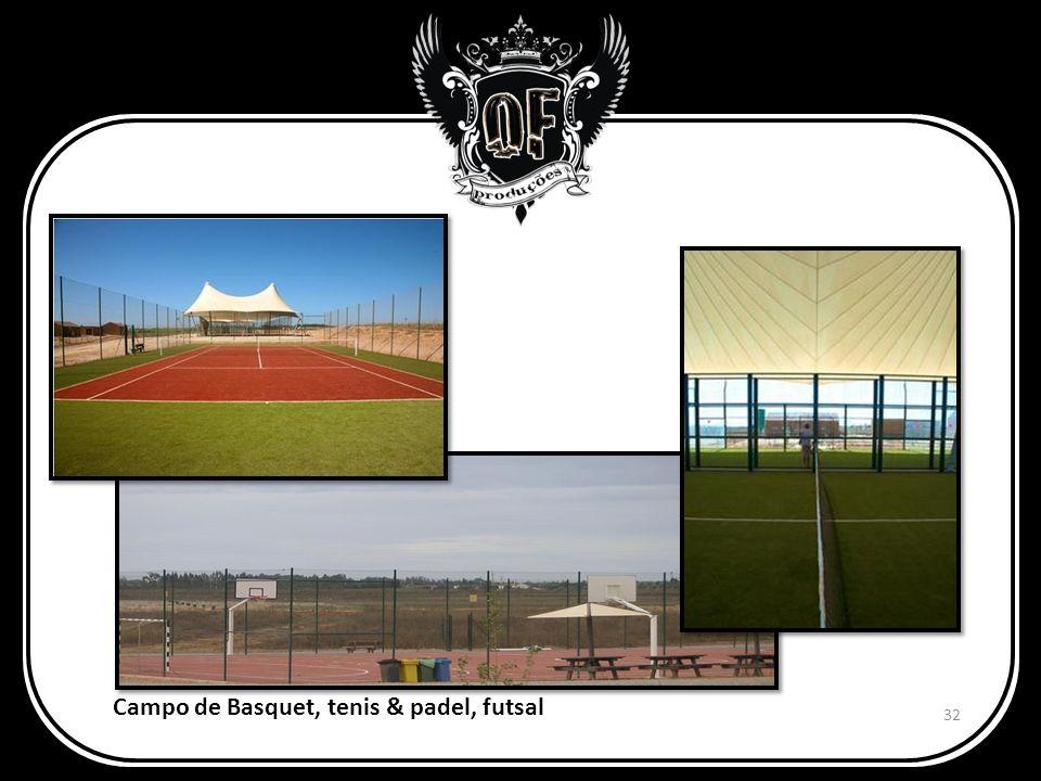 Campo de Basquet, tenis & padel, futsal 32