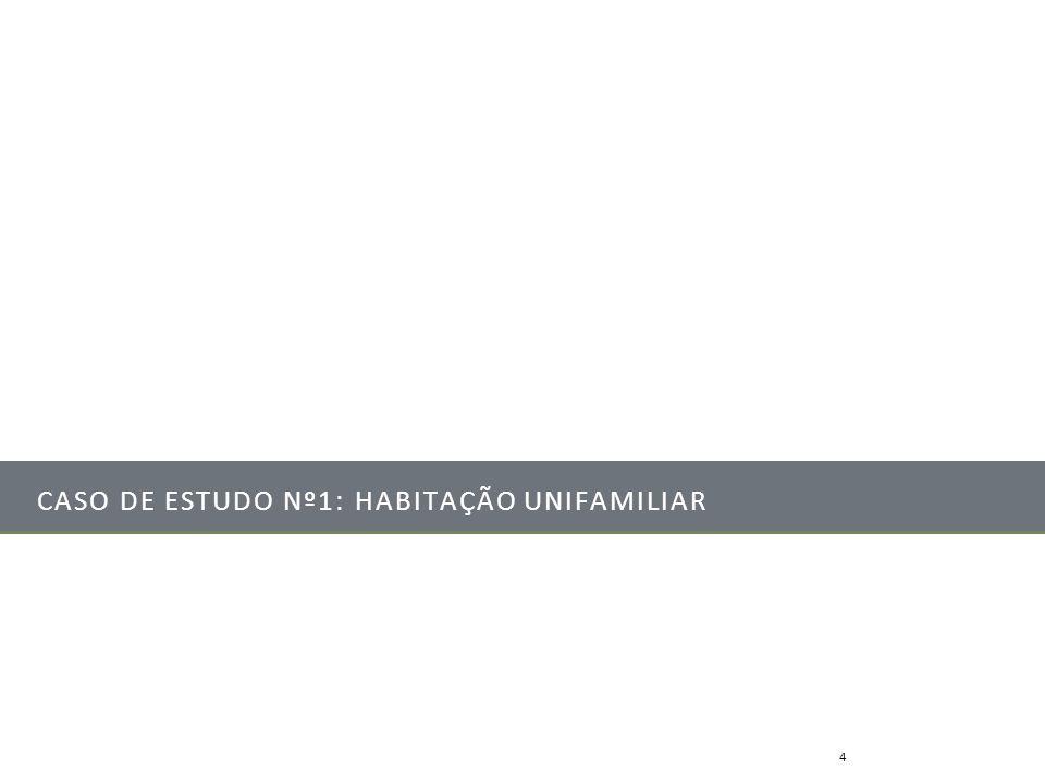 CASO DE ESTUDO Nº1: HABITAÇÃO UNIFAMILIAR Mestrado Integrado em Engenharia Mecânica4