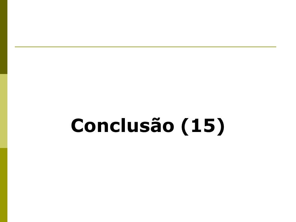 Conclusão (15)