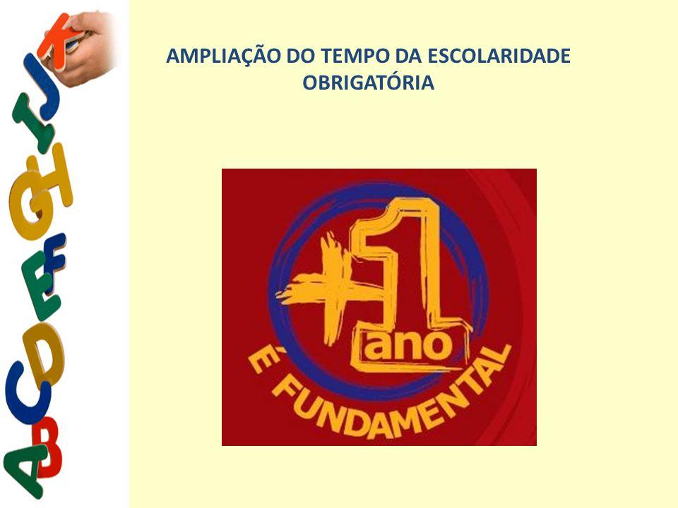 AMPLIAÇÃO DO TEMPO DA ESCOLARIDADE OBRIGATÓRIA