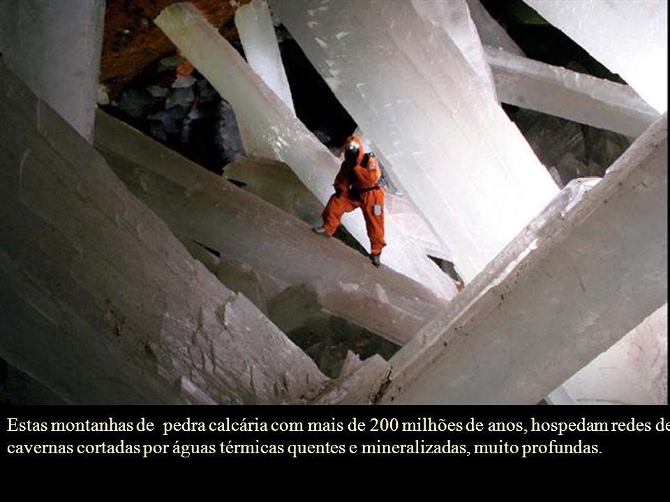 Mas, qual o segredo dos cristais gigantes?