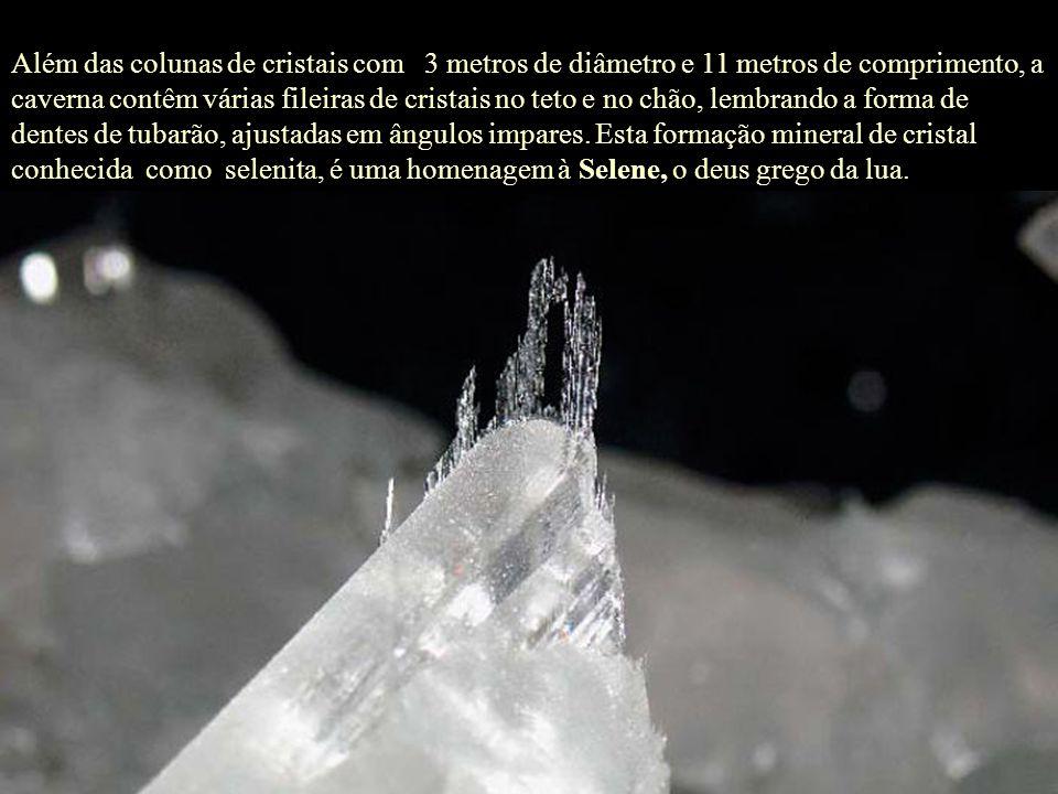 As condições eram perfeitas! Se a temperatura se mantem estável, a pouco menos de 58ºC, e por muito tempo,formam-se cristais muito grandes! - disse Ju