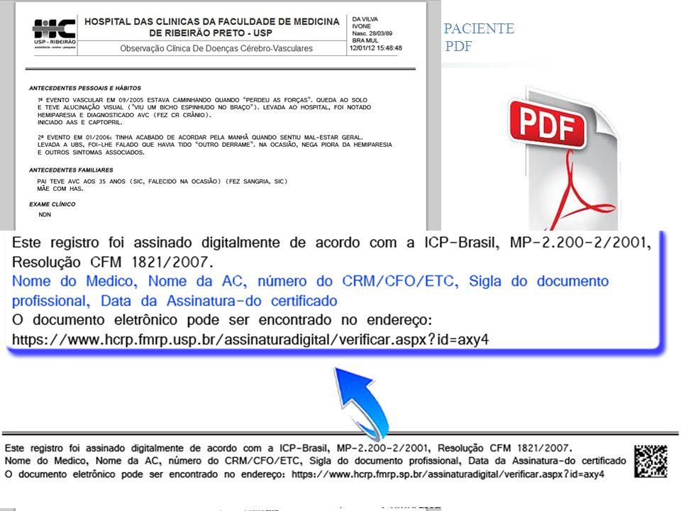 ATENDIMENTO CLÍNICO DO PACIENTE ARQUIVO ASSINADO - PDF