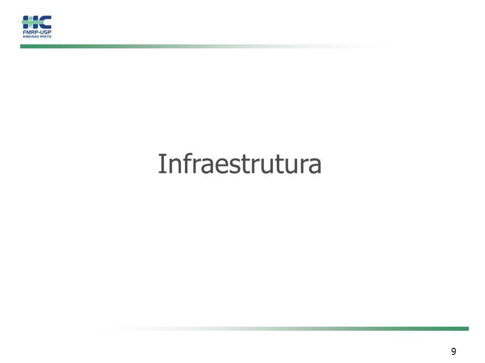 9 Infraestrutura