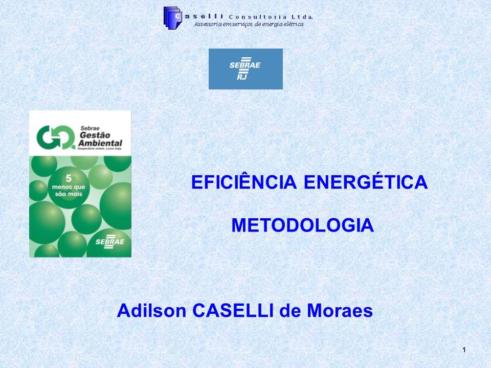 1 Adilson CASELLI de Moraes EFICIÊNCIA ENERGÉTICA METODOLOGIA