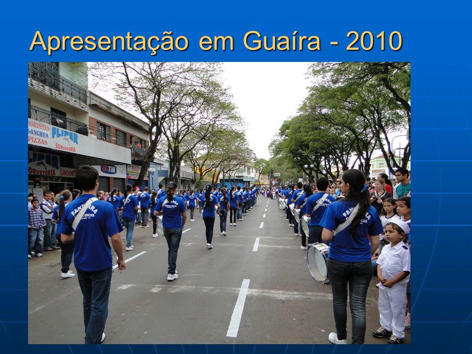 Apresentação em Guaíra - 2010 Apresentação em Guaíra - 2010