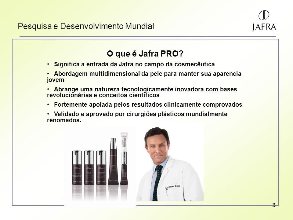 3 Pesquisa e Desenvolvimento Mundial O que é Jafra PRO.