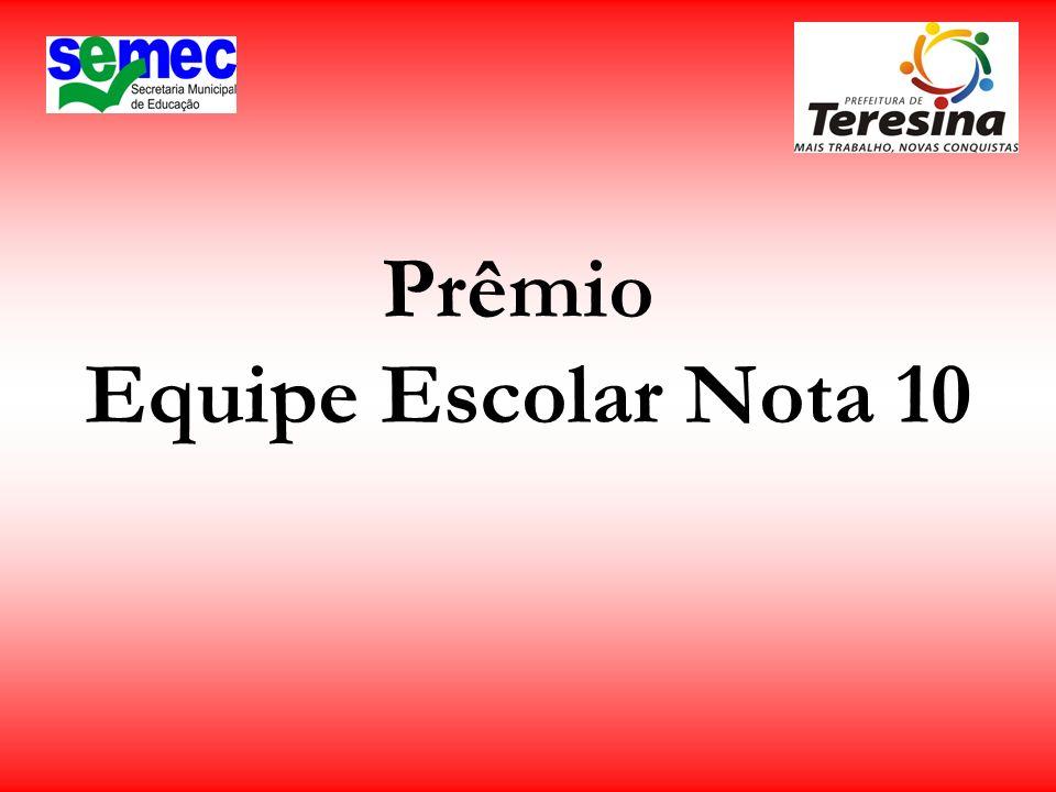 Prêmio Professor Alfabetizador – CMEI Ordem de Classif.