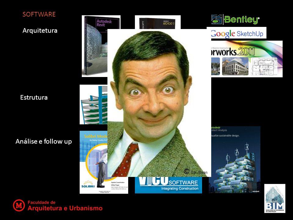 SOFTWARE Arquitetura Estrutura Análise e follow up © Mr. Bean
