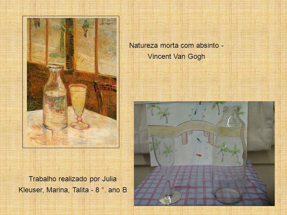 Os girassóis - Vincent Van Gogh Trabalho realizado por Gabriel C, Lucas Inkote, João Vitor - 8 °.