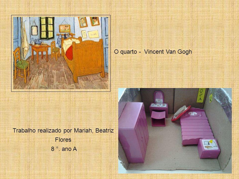 A cadeira - Vincent Van Gogh Trabalho realizado por Piero 8 °. ano A