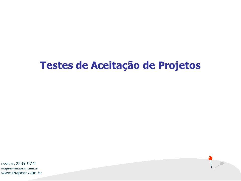 Testes de Aceitação de Projetos