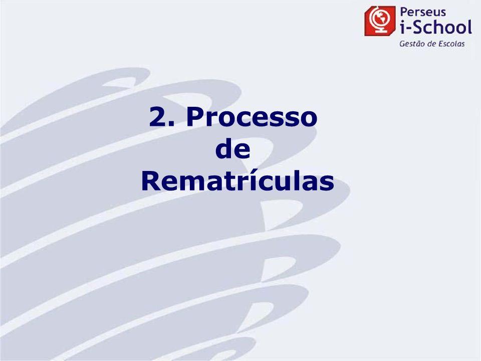 2. Processo de Rematrículas