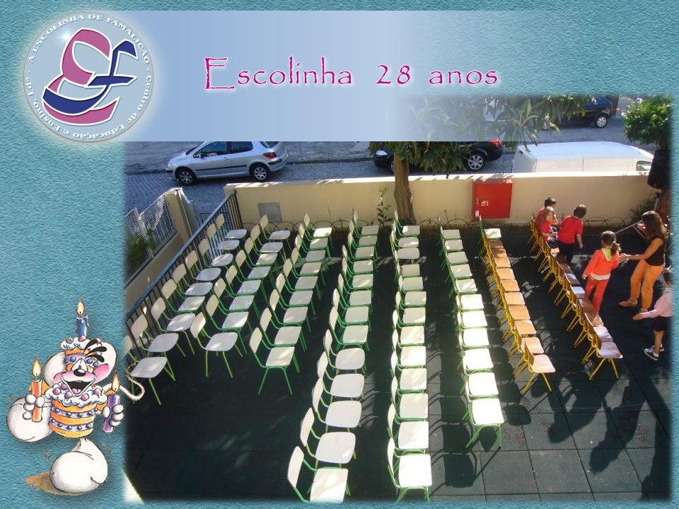 A Escola ArtEduca presenteou a Escolinha e os seus alunos com Instrumentos Musicais...