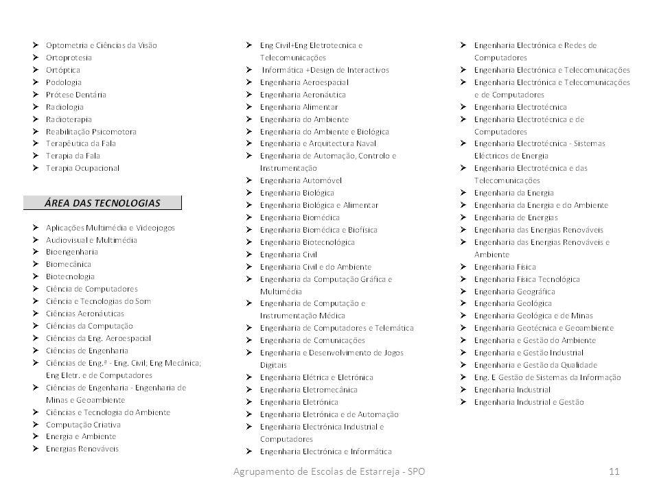 Agrupamento de Escolas de Estarreja - SPO11