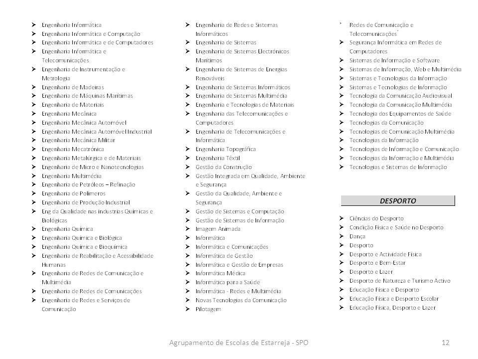 Agrupamento de Escolas de Estarreja - SPO12