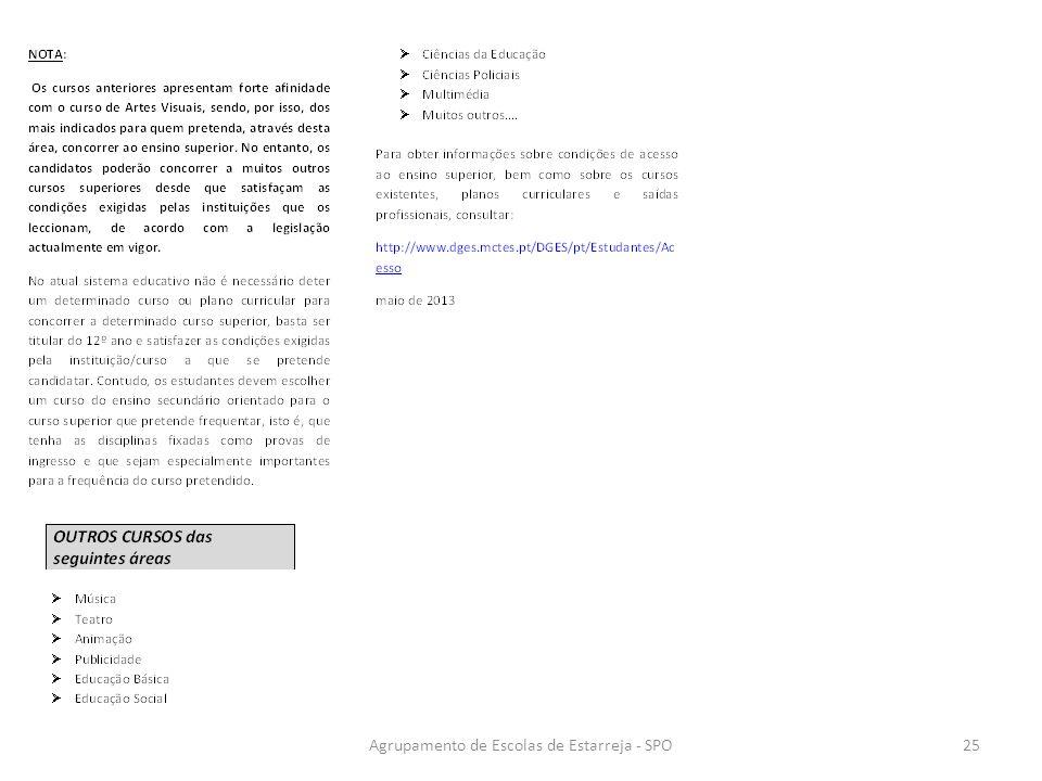 Agrupamento de Escolas de Estarreja - SPO25