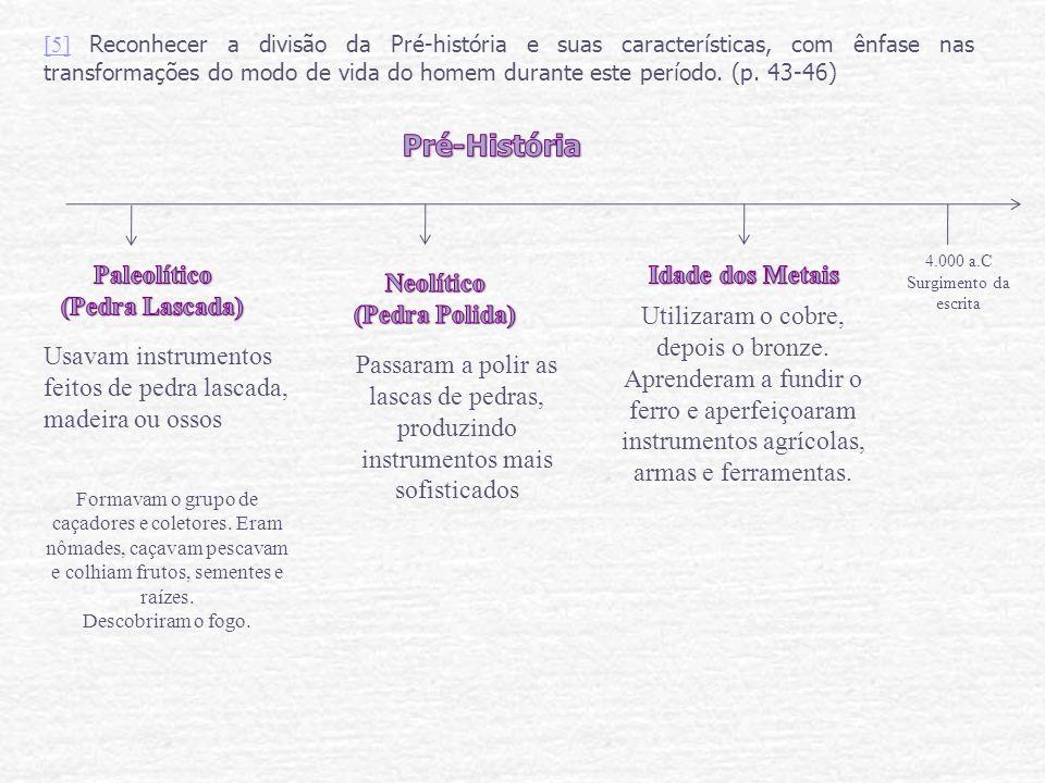 [6][6] Explicar o processo de formação das cidades e as principais características culturais e religiosas das mesmas.
