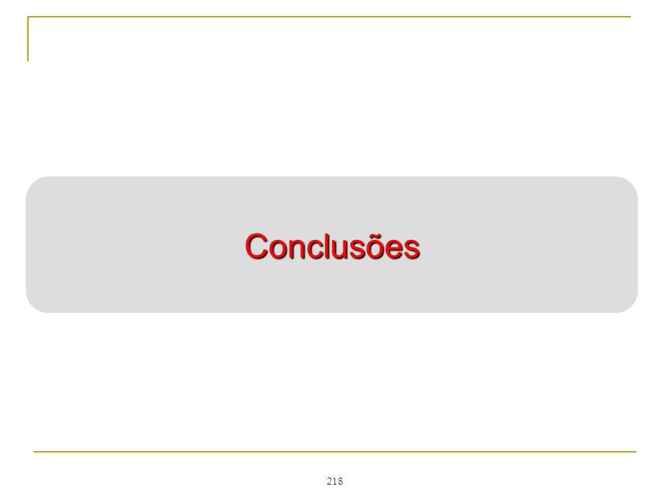 218 Conclusões