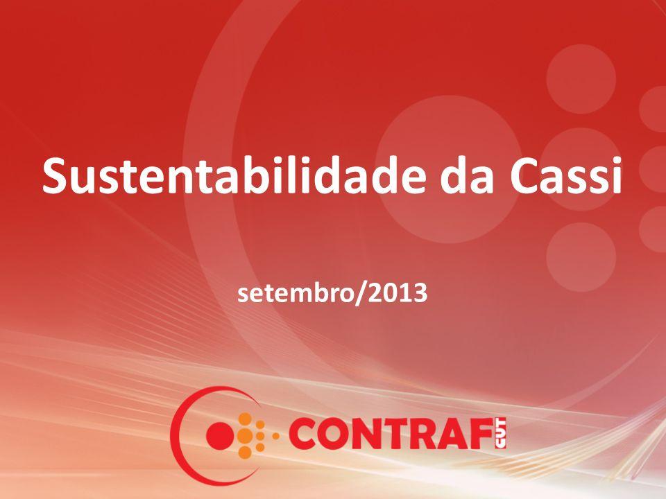 Sustentabilidade da Cassi setembro/2013