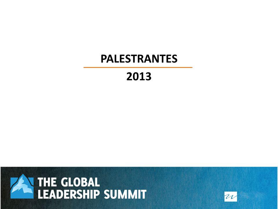 PALESTRANTES 2013