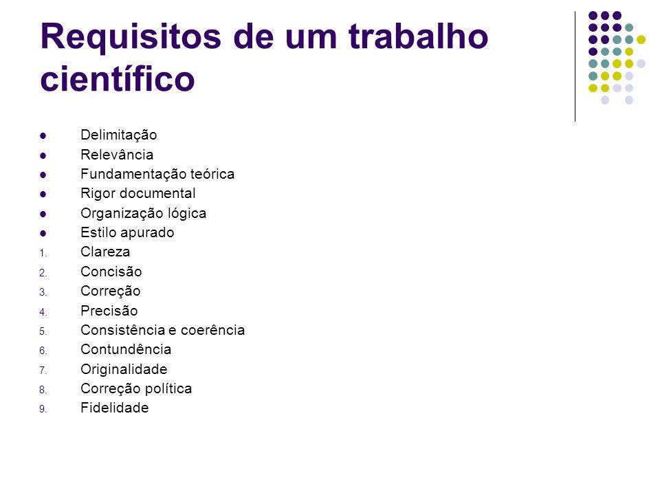 Formatos básicos de referências Livro AUTOR DO LIVRO.