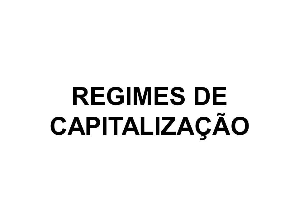 A operação de adição dos juros ao capital tem o nome de capitalização, sendo que há dois regimes de capitalização: O regime de capitalização simples ou regime de juros simples, que consiste em somar os juros ao capital uma única vez, no final do prazo contratado.