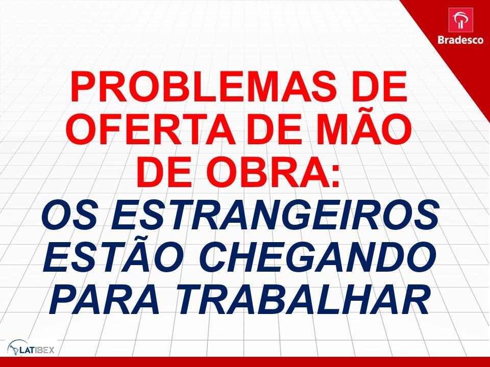 PROBLEMAS DE OFERTA DE MÃO DE OBRA: OS ESTRANGEIROS ESTÃO CHEGANDO PARA TRABALHAR