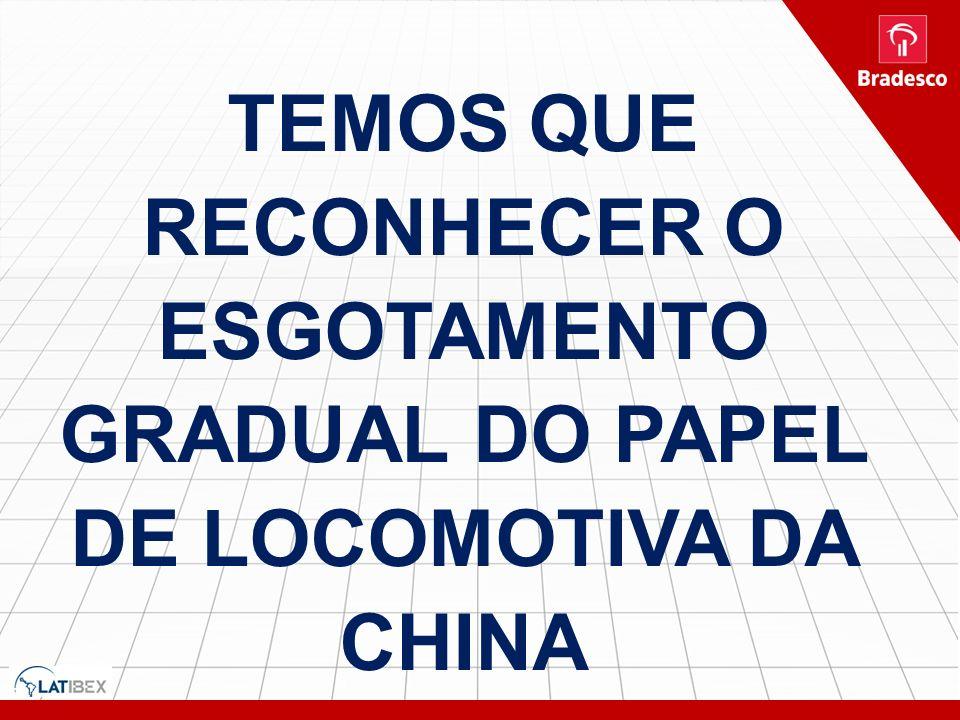 9 TEMOS QUE RECONHECER O ESGOTAMENTO GRADUAL DO PAPEL DE LOCOMOTIVA DA CHINA