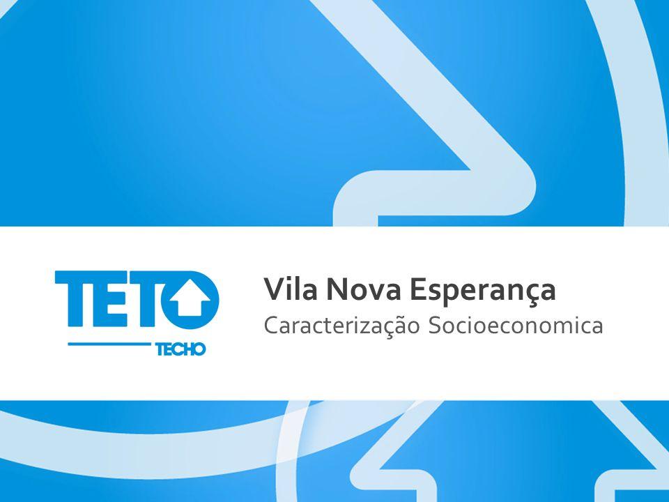 Vila Nova Esperança Caracterização Socioeconomica