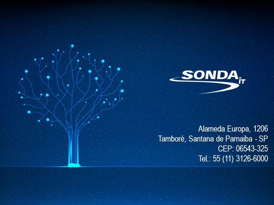 Alameda Europa, 1206 Tamboré, Santana de Parnaiba - SP CEP: 06543-325 Tel.: 55 (11) 3126-6000