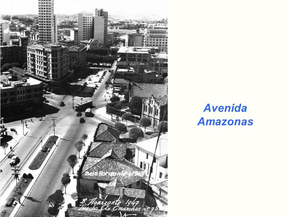 Avenida Afonso Pena – Vista da Rodoviária Ano 1930