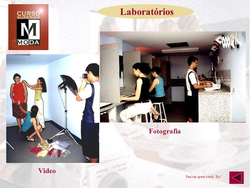 Modernos e bem equipados, os laboratórios permitem que os alunos tenham a oportunidade de praticar e desenvolver seus conhecimentos. Para sair aperte