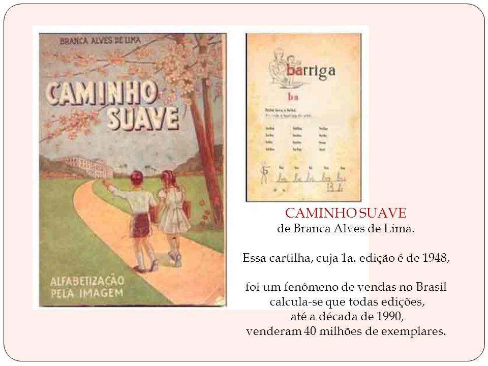 CAMINHO SUAVE de Branca Alves de Lima.Essa cartilha, cuja 1a.