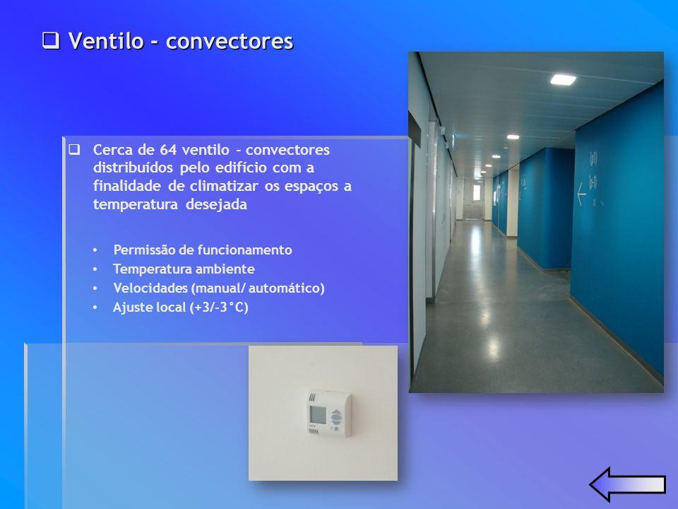 Ventilo - convectores Ventilo - convectores Permissão de funcionamento Temperatura ambiente Velocidades (manual/ automático) Ajuste local (+3/-3°C) Ce